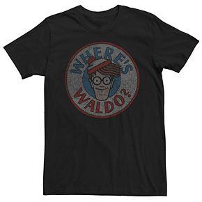 Men's Where's Waldo Face Tee