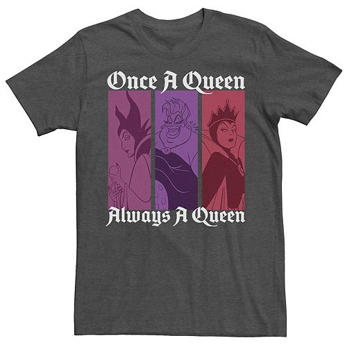 Men's Disney Villains Once A Queen Always A Queen Tee