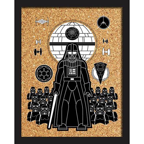 RoomMates Star Wars Darth Vader Cork Wall Art