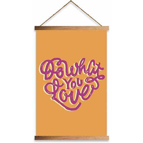 """RoomMates """"Do What You Love"""" Wall Hanging"""