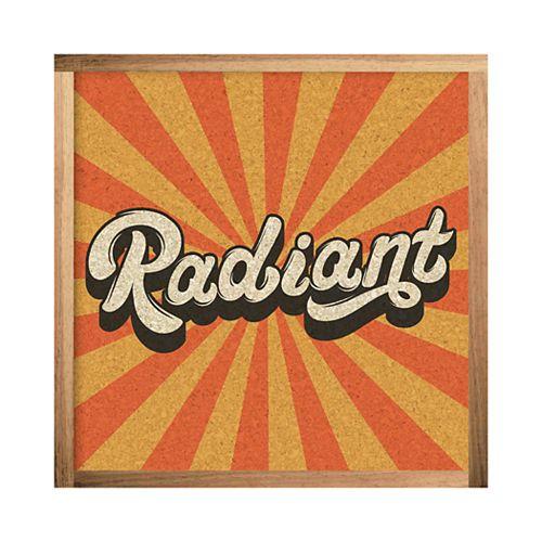 "RoomMates ""Radiant"" Cork Wall Art"