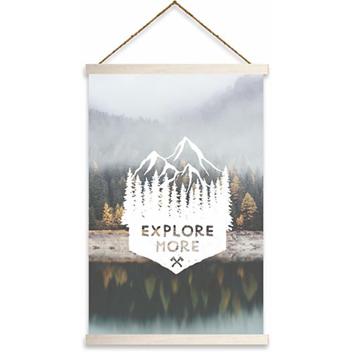 "RoomMates ""Explore More"" Wall Hanging"