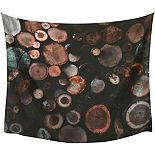 RoomMates Log Large Tapestry