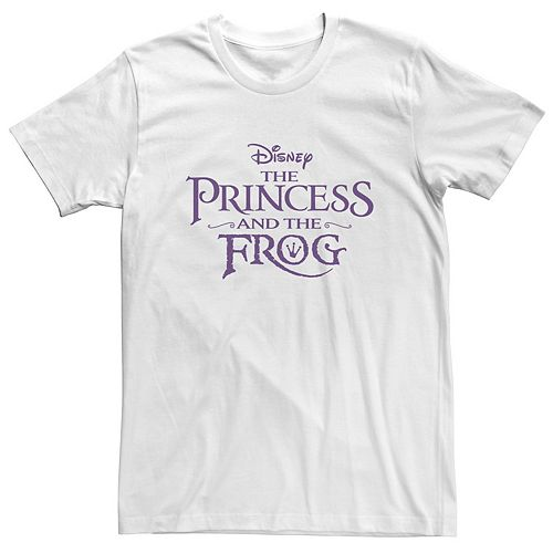Men's Disney The Princess And The Frog Classic Title Logo Tee