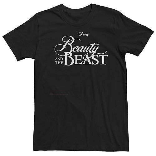 Men's Disney Beauty And The Beast Classic Logo Tee