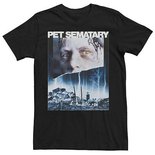 Men's Pet Sematary Original Poster Cover Tee