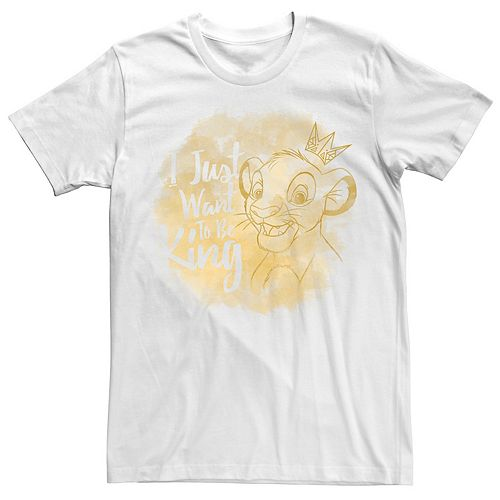 Men's Disney Lion King I Just Want To Be King Tee