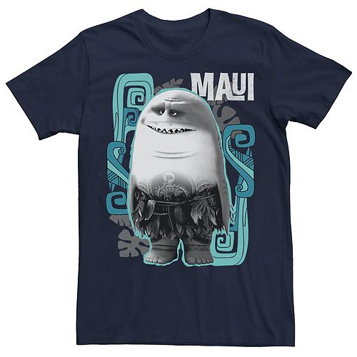 Disney's Moana Men's Shark Maui Graphic Tee