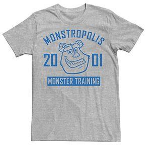 Pixar's Monster's Inc. Men's Monster In Training Graphic Tee