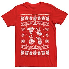 Disney Pixar's Toy Story Men's Festive Toys Graphic Tee