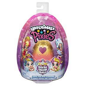 Hatchimals Pixies Royal Snow Ball Collectible Doll And Accessories