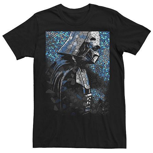 Men's Star Wars Darth Vader Mosaic Graphic Tee