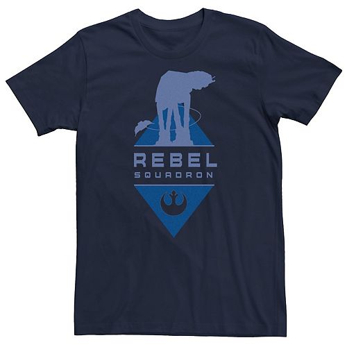 Men's Star Wars Rebel Squadron Diamond Logo Graphic Tee