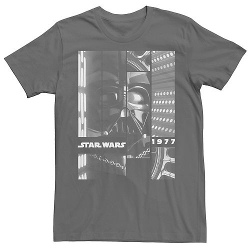 Men's Star Wars Darth Vader Panels 1977 Graphic Tee