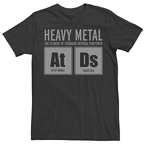 Men's Star Wars Imperial Heavy Metal Chart Elements At Ds Graphic Tee
