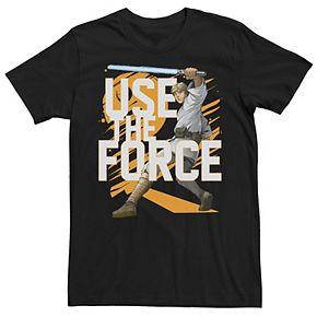Men's Star Wars Use The Force Luke Skywalker Graphic Tee