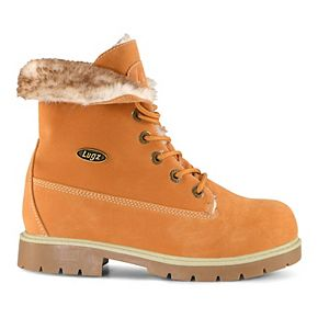 Lugz Convoy Fold Over Faux Fur Kids' Boots