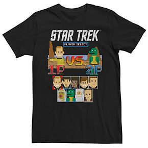 Men's Star Trek Original Series Kirk vs Gorn 8-Bit Tee
