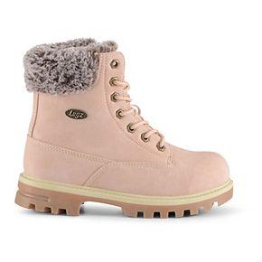 Lugz Empire Hi Faux Fur Grade School Kids' Water Resistant Boots