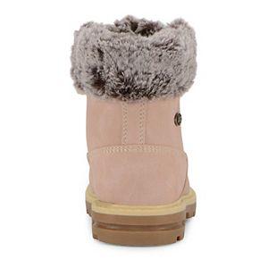 Lugz Empire Hi Faux Fur Preschool Kids' Water Resistant Boots