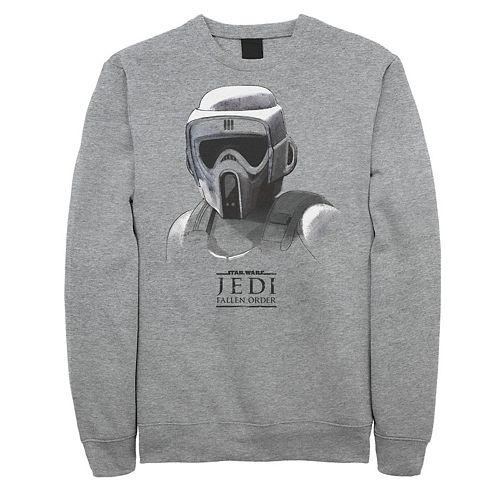 Men's Star Wars Jedi Fallen Order Grayscale Sweatshirt