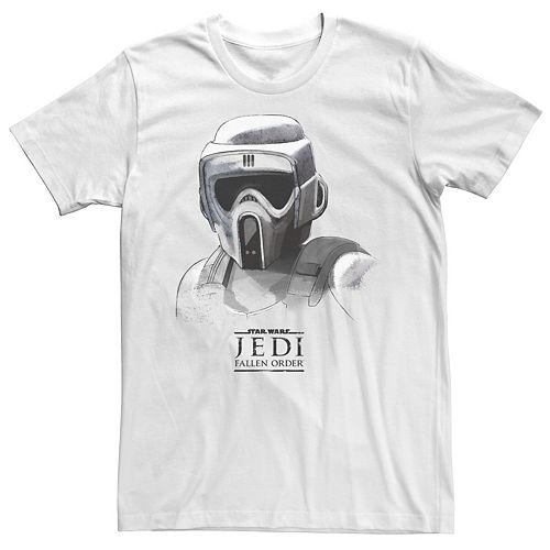 Men's Star Wars Jedi Fallen Order Grayscale Tee
