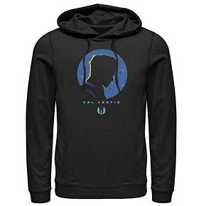 Men's Star Wars Jedi Fallen Order Cal Kestis Profile Pullover Hoodie