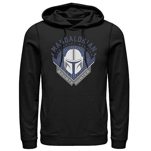 Men's The Mandalorian Warrior Emblem Pullover Hoodie
