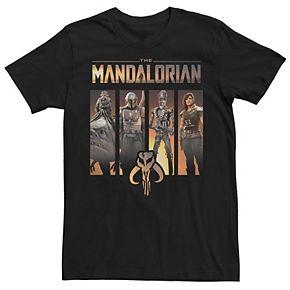 Men's The Mandalorian Character Panel Tee