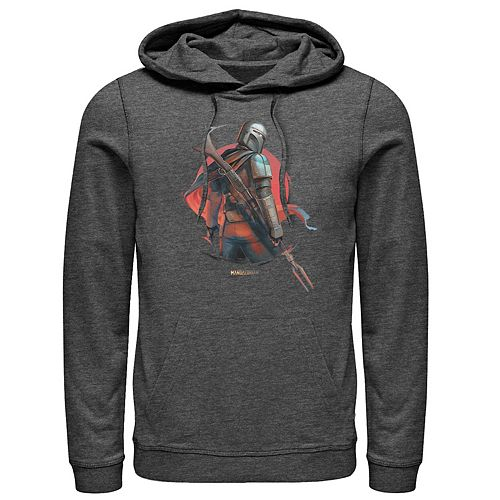 Men's The Mandalorian Dusty Sunset Pullover Hoodie