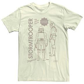 Men's The Mandalorian Stormtrooper Action Figure Tee