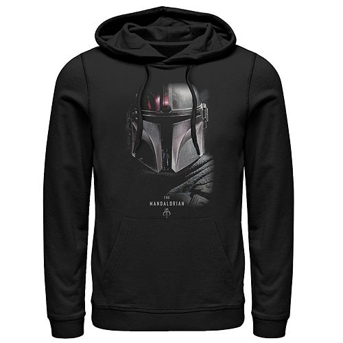 Men's The Mandalorian Bounty Hunter Shadow Pullover Hoodie