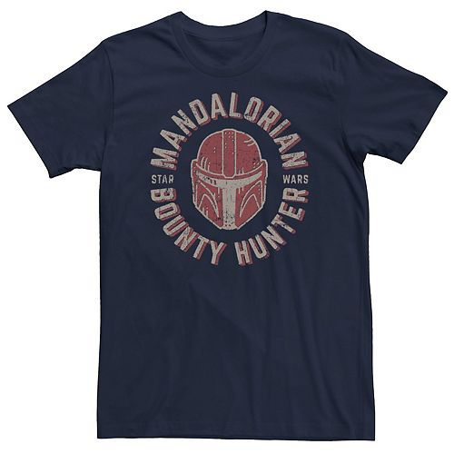 Men's The Mandalorian Helmet Stamp Tee