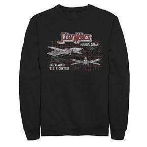 Men's The Mandalorian Tie Fighter Sweatshirt