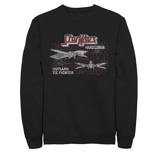 Men's The Mandalorian Tie Fighter Sweatshirt
