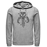 Men's The Mandalorian Mythosaur Bullet Hole Pullover Hoodie