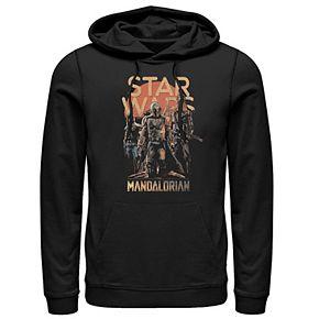 Men's The Mandalorian Grunge Pullover Hoodie