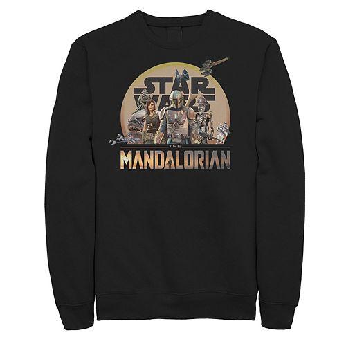 Men's The Mandalorian Character Collage Sweatshirt