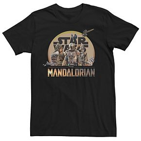 Men's The Mandalorian Character Collage Tee