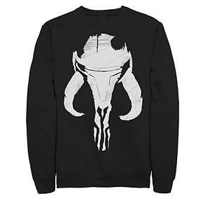 Men's The Mandalorian Mythosaur Skull Sweatshirt