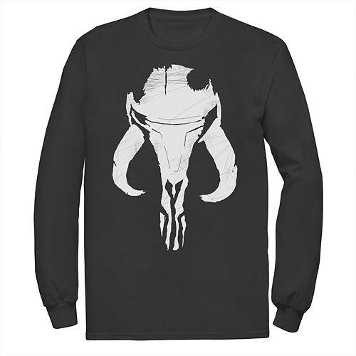 Men's The Mandalorian Mythosaur Skull Tee