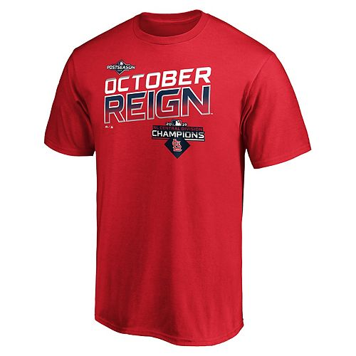 Men's St. Louis Cardinals 2019 NL Central Division Champions Tee