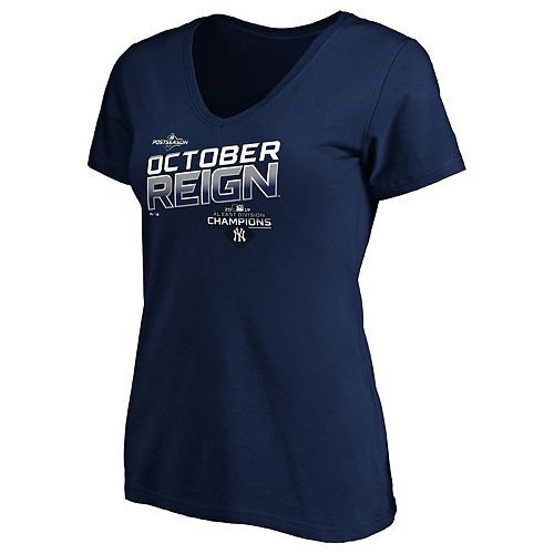 Women's New York Yankees 2019 AL East Division Champions Tee