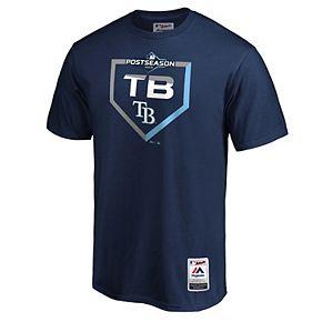 Men's Tampa Bay Rays 2019 Postseason Dugout Tee