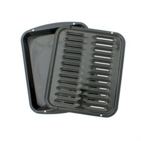 Range Kleen Black Broiler Pan Set