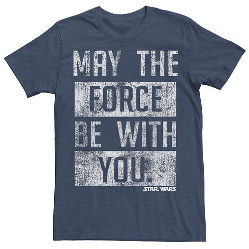 Men's Star Wars May The Force Be With You Graphic Tee