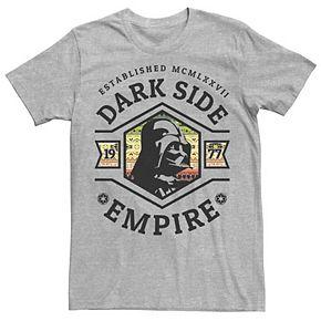 Men's Star Wars Darth Vader Dark Side Empire Logo Tee