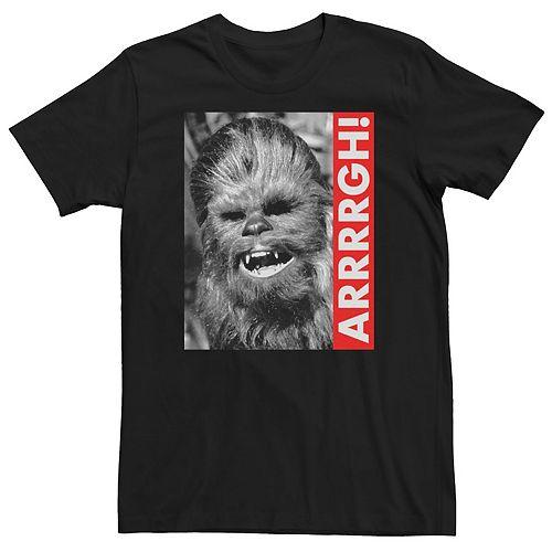 Men's Star Wars Chewbacca Graphic Tee