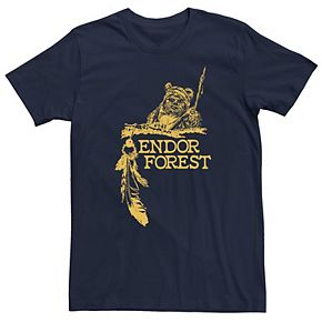 Men's Star Wars Endor Forest Graphic Tee