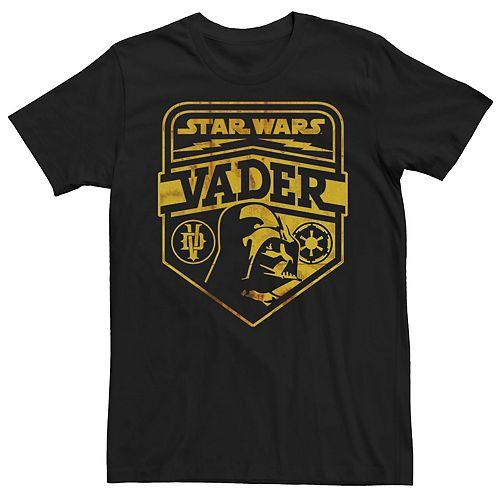 Men's Star Wars Darth Vader Sign Graphic Tee